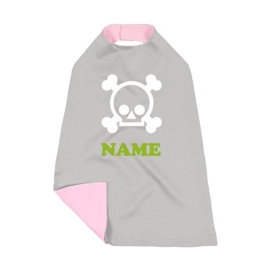 Custom Name Skull Halloween Costume