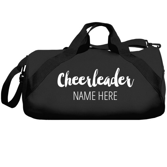 Custom Name Sport Cheerleader Bag