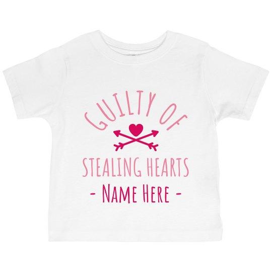 Custom Name Stealing Hearts