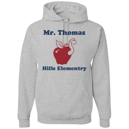 Custom Name Teacher Hoodie