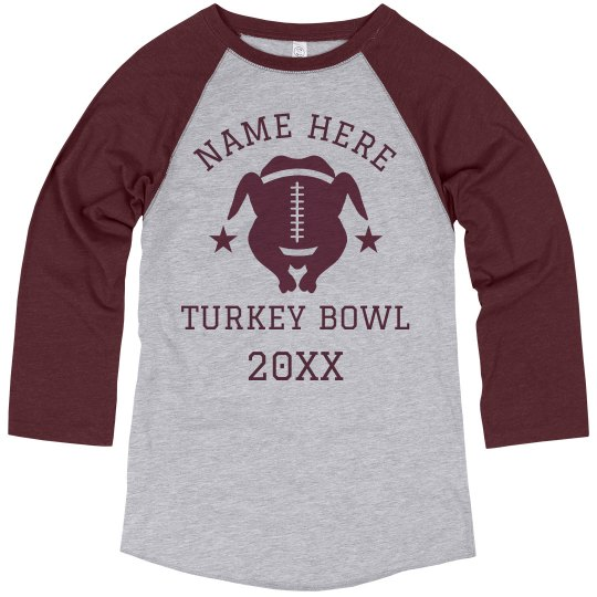 Custom Name Turkey Bowl