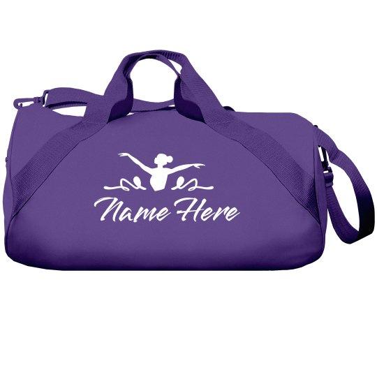 Custom Name Youth Dance Bag