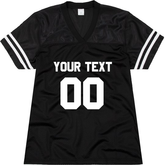 Custom Name/Number Jersey Front