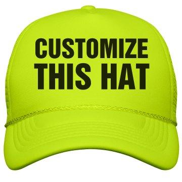 Custom Neon Hats!