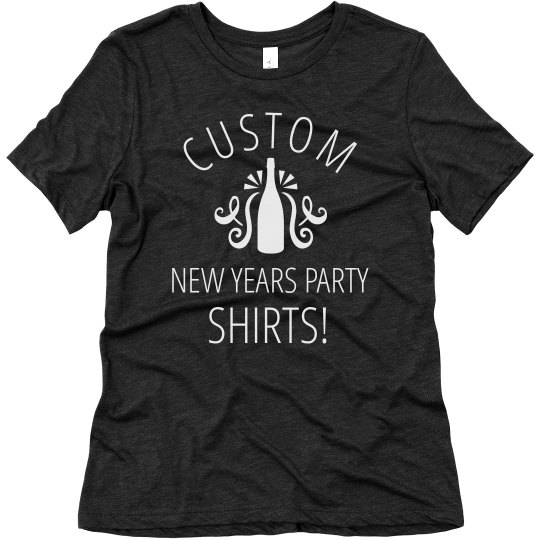 Custom New Years Party Designs
