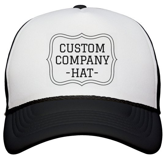 Custom No Minimums Company Hat