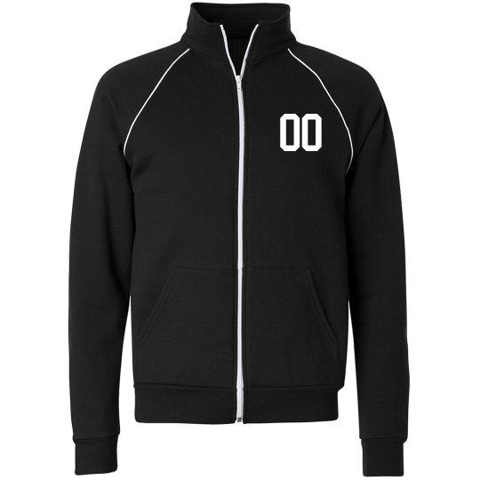 Custom Number Sporty Jacket