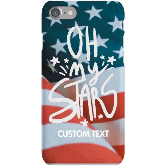 Custom Oh My Stars iPhone Case