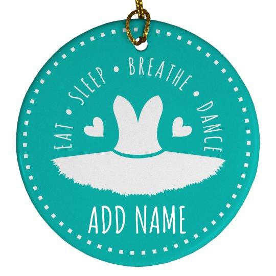 Custom Ornament For Dance Girls