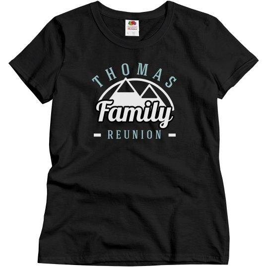 Custom Outdoors Family Reunion Top