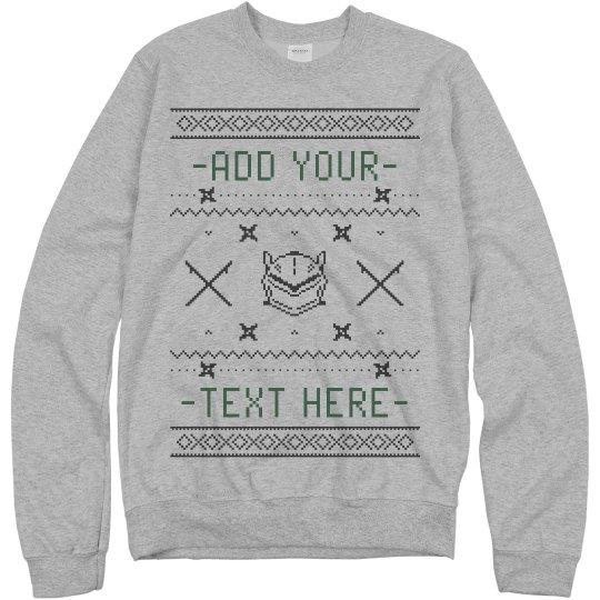 Custom Overwatch Ugly Sweater