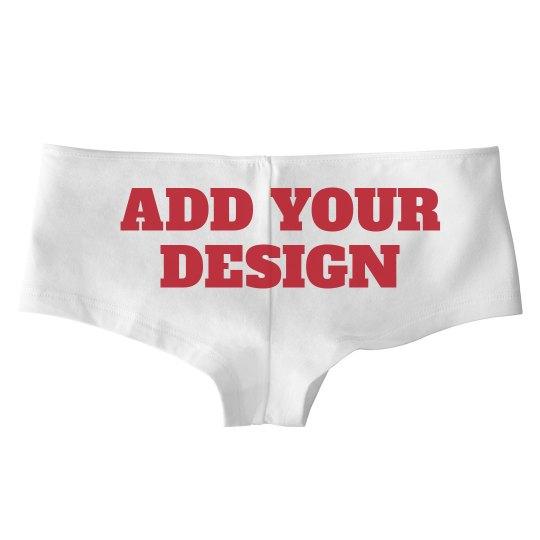 Custom Panties For Her
