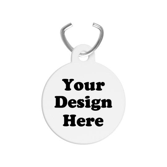 Custom Pet ID Tags Add Text & Art