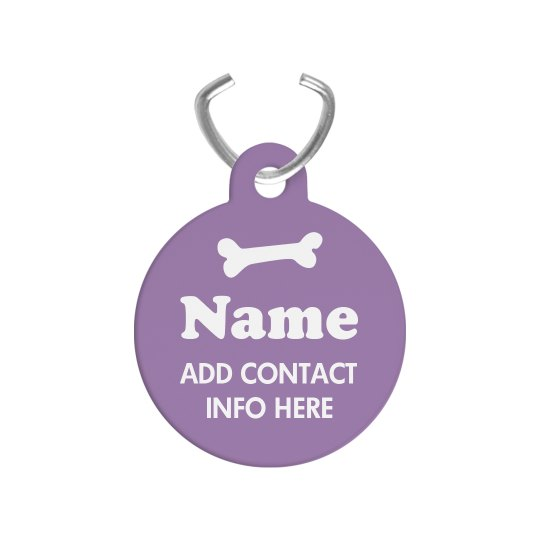 Custom Pet ID Tags For Dogs & Cats