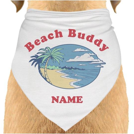 Custom Pet Name Beach Bandana
