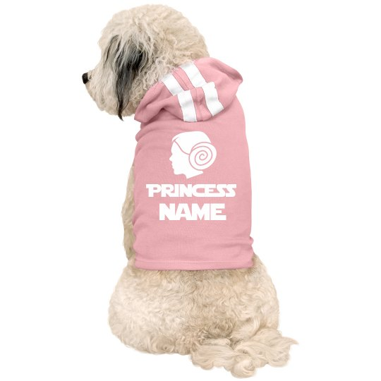 Custom Pet Name Space Princess