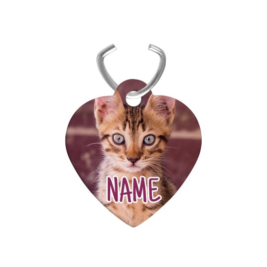 Custom Pet Photo And Name