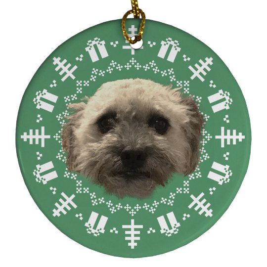 Custom Pet Photo Holiday Decoration
