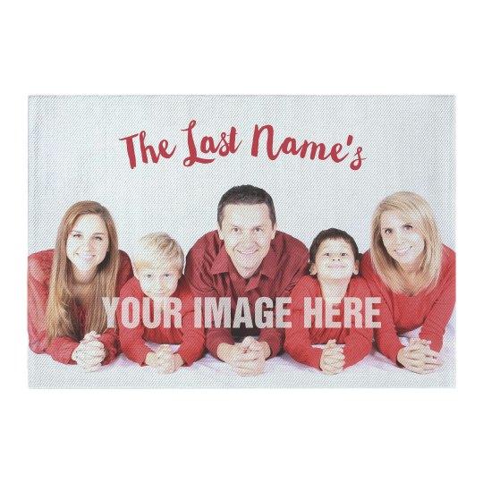 Custom Photo & Text Family Home