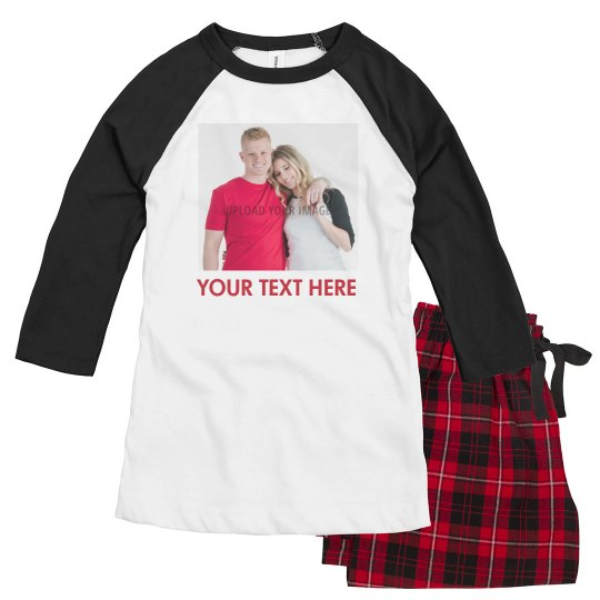 Custom Photo And Text Couples Design