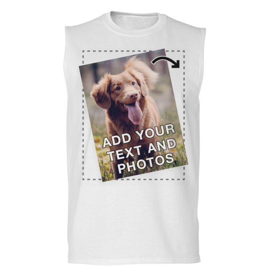 Custom Photo And Text Tees