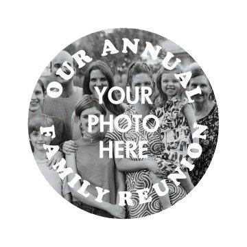 Custom Photo Annual Family Reunion