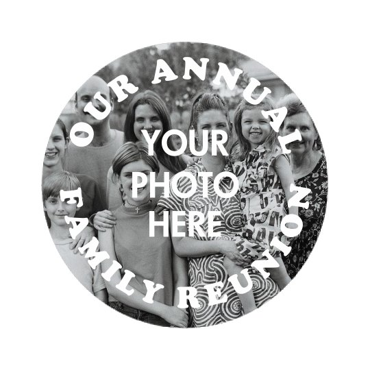 Custom Photo Annual Family Reunion
