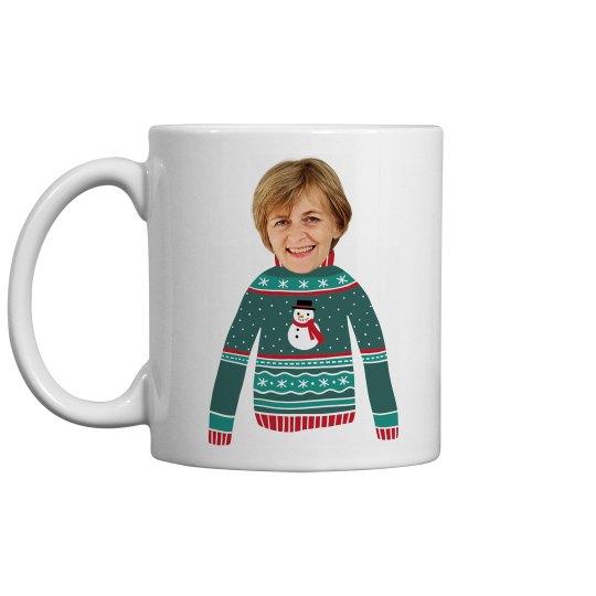 Custom Photo Funny Christmas Gift