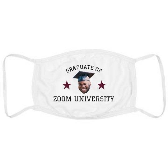Custom Photo Graduate Mask