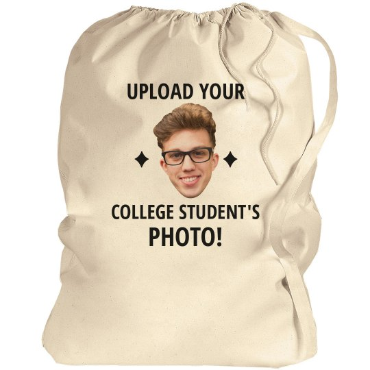 Custom Photo Laundry Bag