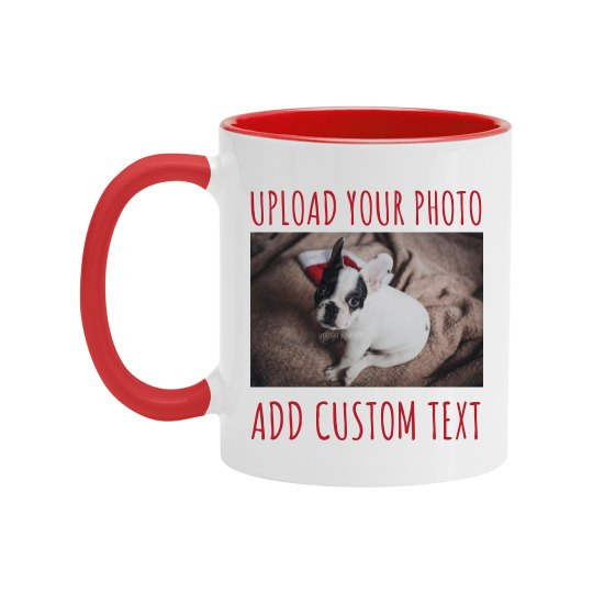 Custom Photo Upload Coffee Gift