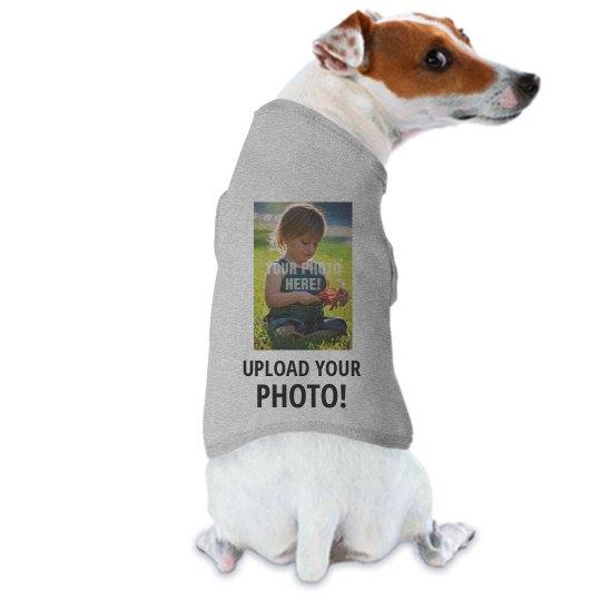 Custom Photo Upload Dog Shirt