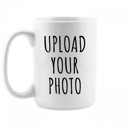 Custom Photo Upload Gift Mug
