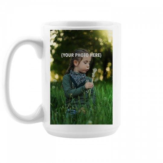 Custom Photo Upload Large Mug