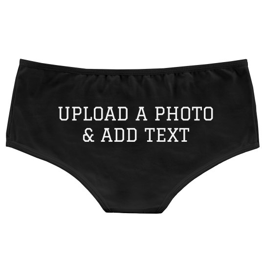 Custom Photo Upload On Undies