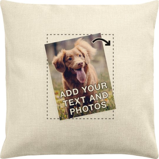 Custom Photo Upload Pillow