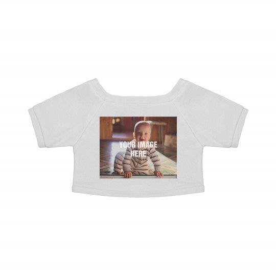 Custom Photo Upload Teddy Bear Shirt