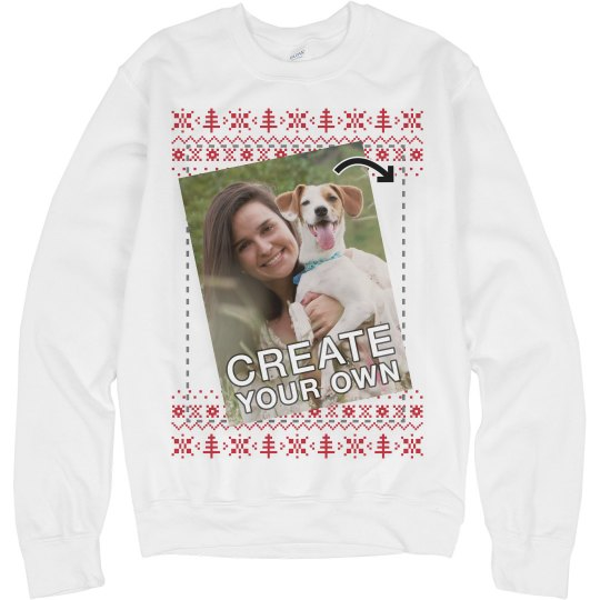 Custom Picture Ugly Xmas Sweater