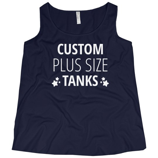 Custom Plus Size Tanks
