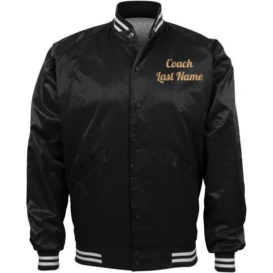 Custom Pocket Football Coach Name