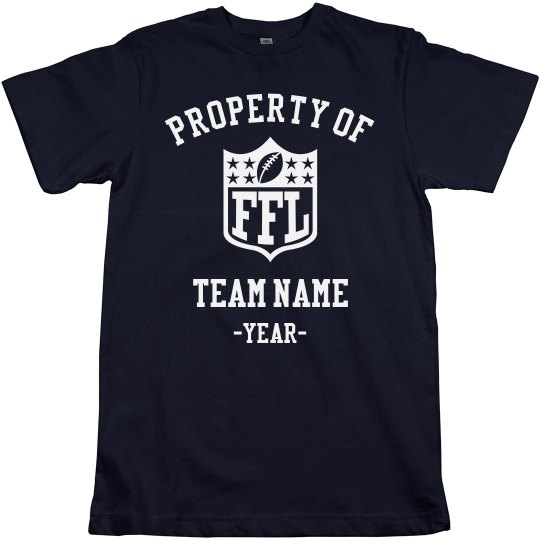 Custom Property Of FFL Team