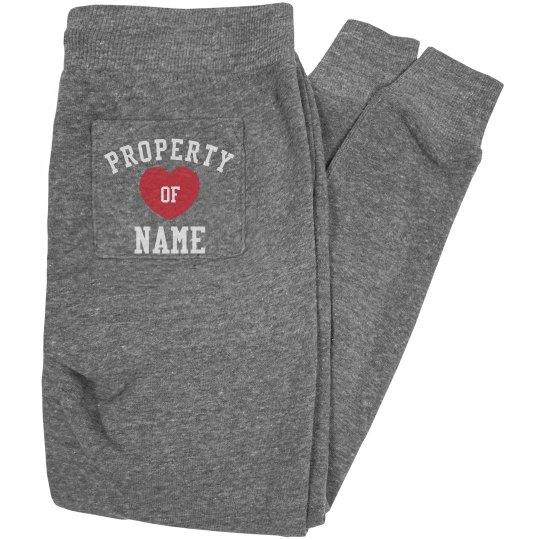 Custom Property Of Sweatpants