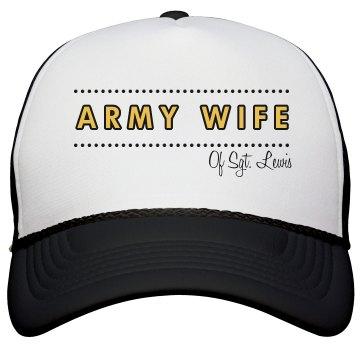 Custom Proud Army Wife