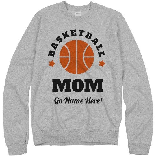 Custom Proud Basketball Mom