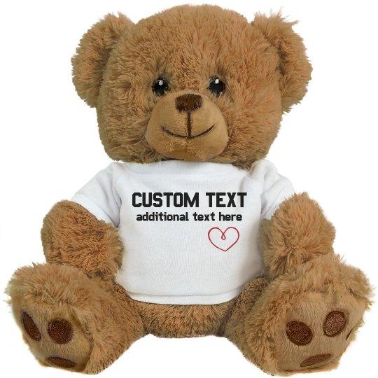 Custom Puppy Plush