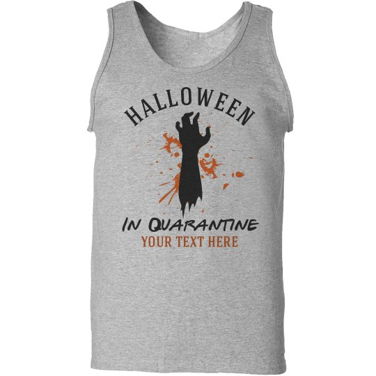 Custom Quarantine Halloween Tank Top