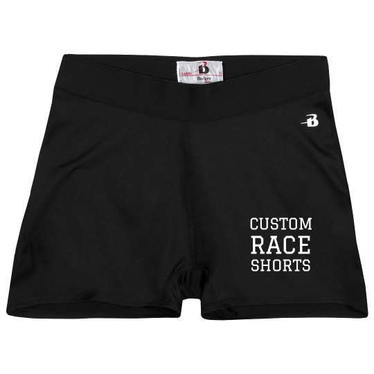 Custom Race And Running Shorts
