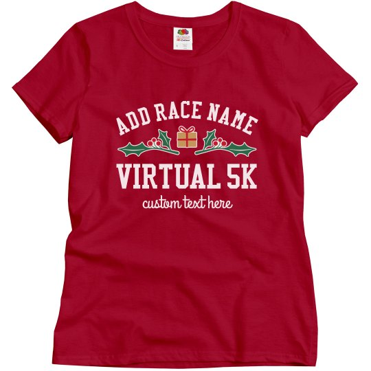 Custom Race Virtual Holiday Top
