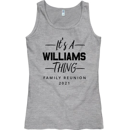 Custom Reunion Family Tank