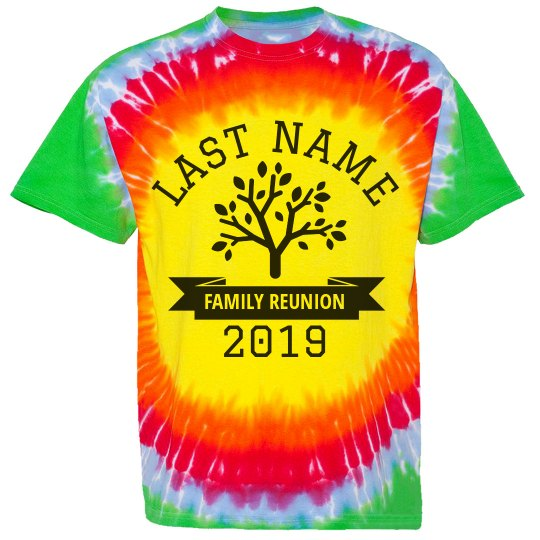 Custom Reunion TieDye